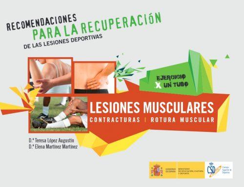 Recomendaciones para la recuperación de lesiones deportivas: contracturas y rotura muscular