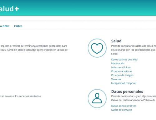 La web «ClicSalud+» incorpora nuevos servicios y funcionalidades para la ciudadanía andaluza