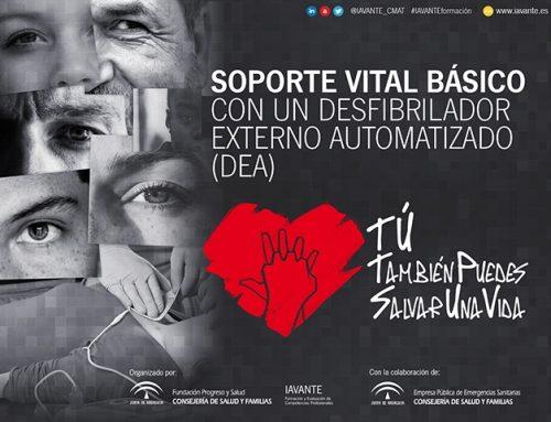 #TÚTambiénPuedesSalvarUnaVida: Manual de Soporte Vital Básico y uso del desfibrilador para la ciudadanía (descarga libre)