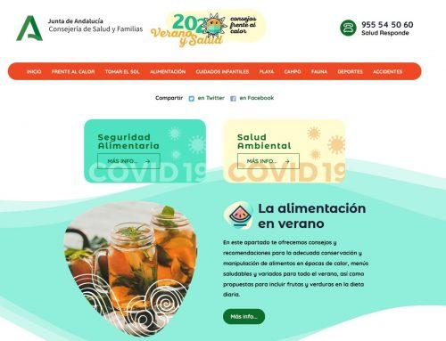 Cuidados frente al calor: verano y salud 2020