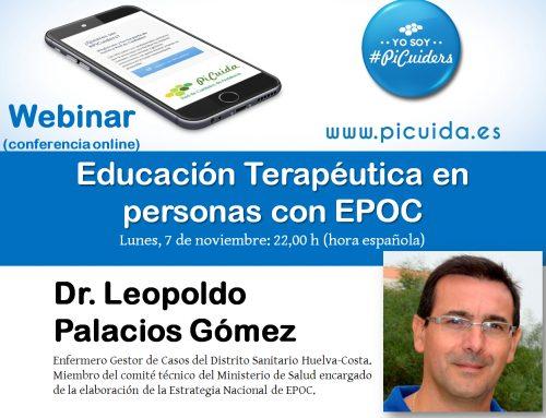 Webinar: Educación Terapéutica en personas con EPOC