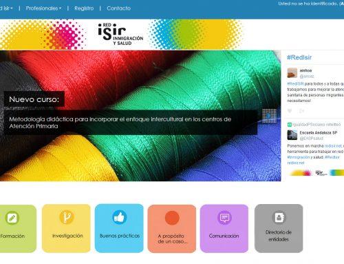 La Escuela Andaluza de Salud Pública pone en marcha RedIsir.net un espacio virtual para mejorar atención socio sanitaria a migrantes.