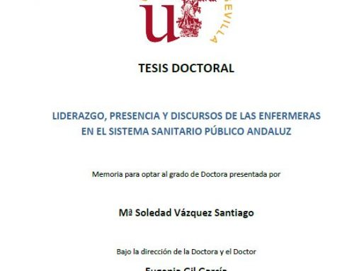 Liderazgo, presencia y discursos de las enfermeras en el Sistema Sanitario Público Andaluz