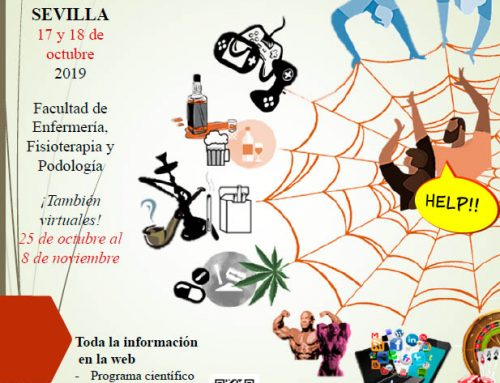 II Jornadas Internacionales de trabajo sobre prevención: adicciones y otras conductas problemáticas (Sevilla, 17 y 18 de octubre)