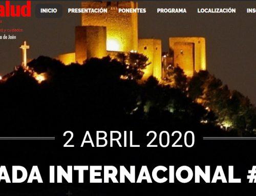 El próximo 2 de Abril se celebra la VIII Jornada Internacional #3esalud en Jaén