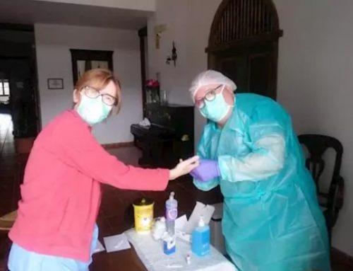 Enfermeras gestoras de casos superan las 4.000 asistencias de seguimiento a residentes y trabajadores de residencias de personas mayores en Huelva