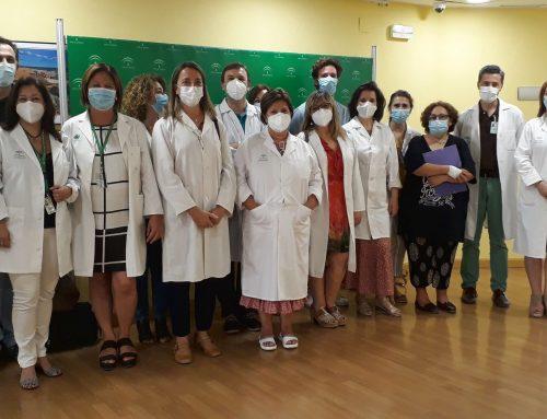 Intensa labor de las enfermeras gestoras de casos del Área de Gestión Sanitaria Sur de Sevilla con pacientes vulnerables