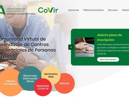 La Consejería de Salud y Familias pone en marcha un programa de formación para la prevención de nuevos casos y manejo de la COVID-19 en las residencias de mayores