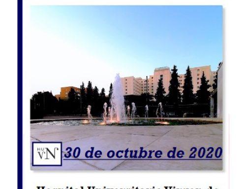 El 30 octubre se celebra la I Jornada virtual «Innovación y desarrollo en cuidados» #JornadaIDC